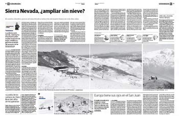 Sierra Nevada ¿ampliar sin nieve? ,26-02-2012