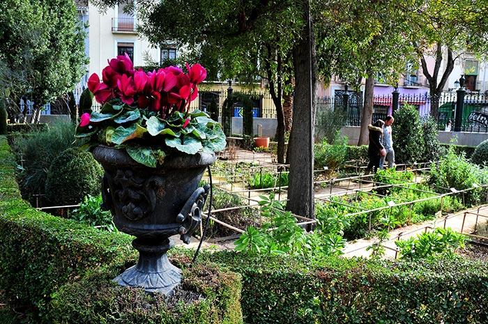 Granada romantica for Jardin botanico de granada